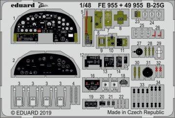 B-25G Mitchell [Italeri] · EDU FE955 ·  Eduard · 1:48