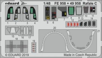 Dassault Rafale C [Revell] · EDU FE958 ·  Eduard · 1:48