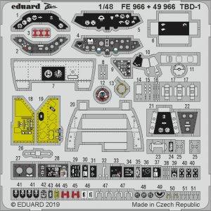 Douglas TBD-1 Devastator [Great Wall Hobby] · EDU FE966 ·  Eduard · 1:48