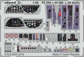 L-29 Delfin [AMK] · EDU FE998 ·  Eduard · 1:48