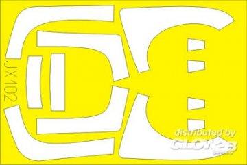 EF 2000B Double Seater [Trumpeter] · EDU JX102 ·  Eduard · 1:32