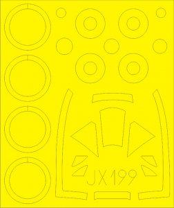 Tempest Mk.II [Special Hobby] · EDU JX199 ·  Eduard · 1:32