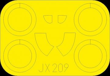 I-16 Type 24 [ICM] · EDU JX209 ·  Eduard · 1:32