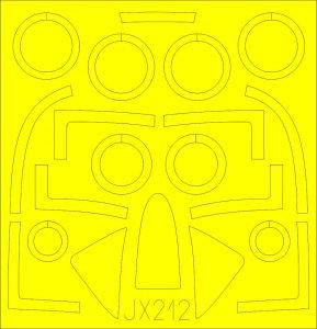 T-28C Trojan [Kitty Hawk] · EDU JX212 ·  Eduard · 1:32