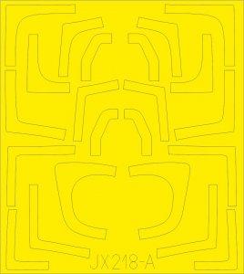 Russian MIG-29UB Fulcrum - TFace [Trumpeter] · EDU JX218 ·  Eduard · 1:32