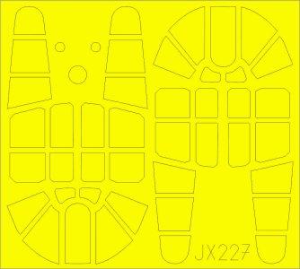 P-40F War Hawk - TFace [Trumpeter] · EDU JX227 ·  Eduard · 1:32