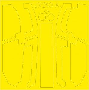 AH-1Z - TFace [Academy] · EDU JX243 ·  Eduard · 1:32