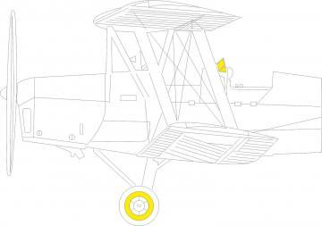 DH. 82A Tiger Moth [ICM] · EDU JX273 ·  Eduard · 1:32