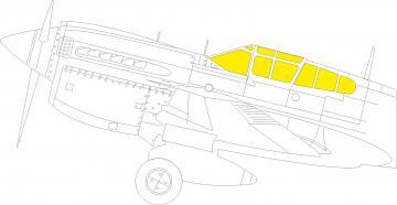 P-40M War Hawk - TFace [Trumpeter] · EDU JX276 ·  Eduard · 1:32