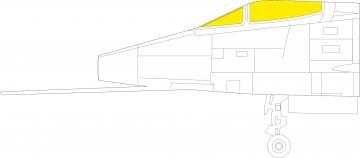 F-100C Super Sabre [Trumpeter] · EDU JX277 ·  Eduard · 1:32