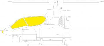AH-1G Cobra - TFace [ICM] · EDU JX280 ·  Eduard · 1:32