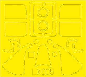 Grumman F6F-5 Hellcat [Airfix] · EDU LX005 ·  Eduard · 1:24