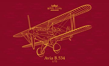 Avia B.534 - Quattro Combo - Royal class · EDU R0010 ·  Eduard · 1:72