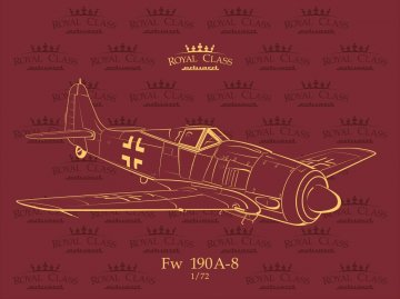 Focke-Wulf  Fw 190 A-8 - Quattro Combo - Royal class · EDU R0012 ·  Eduard · 1:72