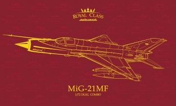 MiG-21MF - Dual Combo - Royal class · EDU R0017 ·  Eduard · 1:72