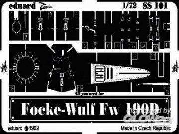 Focke-Wulf Fw 190 D · EDU SS101 ·  Eduard · 1:72