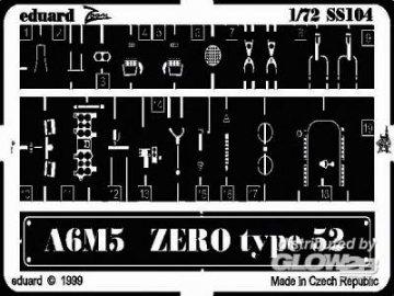 A6M5 Zero Type 52 · EDU SS104 ·  Eduard · 1:72