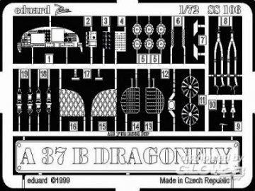 A-37 B Dragonfly · EDU SS106 ·  Eduard · 1:72