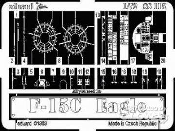 F-15C Eagle · EDU SS115 ·  Eduard · 1:72