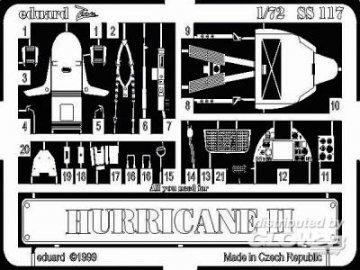 Hurricane II · EDU SS117 ·  Eduard · 1:72