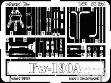 Focke-Wulf Fw 190 A · EDU SS124 ·  Eduard · 1:72