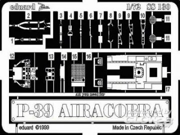 P-39 Airacobra · EDU SS130 ·  Eduard · 1:72
