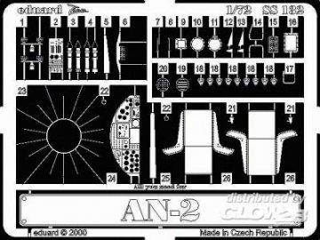Antonov An-2 · EDU SS132 ·  Eduard · 1:72