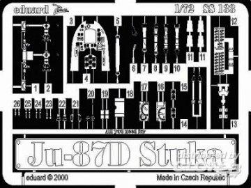 Junkers Ju 87 D Stuka · EDU SS133 ·  Eduard · 1:72