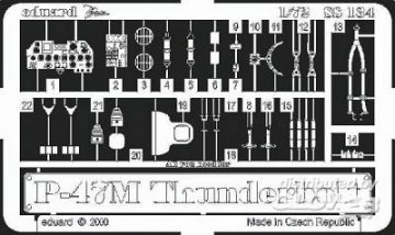 P-47M Thunderbolt · EDU SS134 ·  Eduard · 1:72