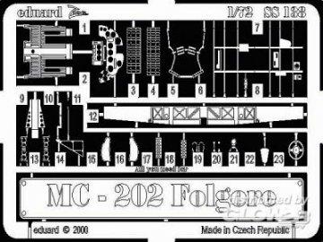 MC-202 Folgore · EDU SS138 ·  Eduard · 1:72