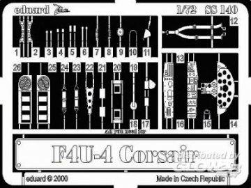 F4U-4 Corsair · EDU SS140 ·  Eduard · 1:72