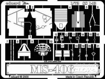 MS-406 · EDU SS143 ·  Eduard · 1:72