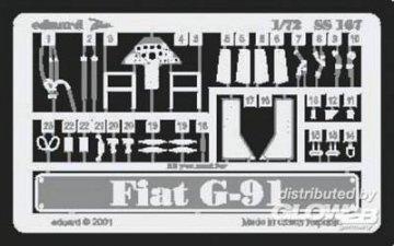 Fiat G-91 · EDU SS167 ·  Eduard · 1:72