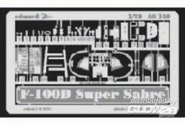 F-100D Super Sabre · EDU SS169 ·  Eduard · 1:72