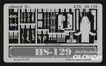 Henschel Hs 129 · EDU SS178 ·  Eduard · 1:72
