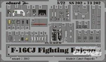F-16CJ Fighting Falcon · EDU SS202 ·  Eduard · 1:72