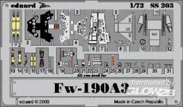 Focke-Wulf Fw 190 A-3 · EDU SS203 ·  Eduard · 1:72