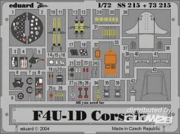 F4U-1D Corsair · EDU SS215 ·  Eduard · 1:72