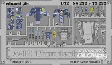 A-10 Thunderbolt II · EDU SS232 ·  Eduard · 1:72