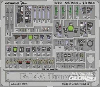 F-14A Tomcat · EDU SS234 ·  Eduard · 1:72