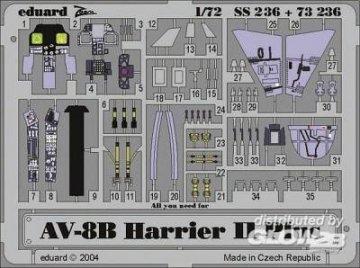 AV-8B Harrier II Plus · EDU SS236 ·  Eduard · 1:72