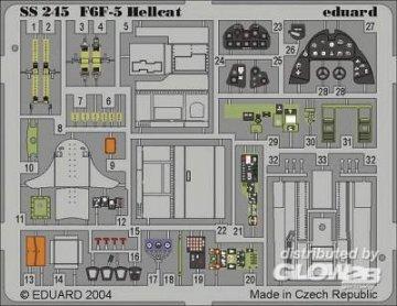 F6F-5 Hellcat · EDU SS245 ·  Eduard · 1:72