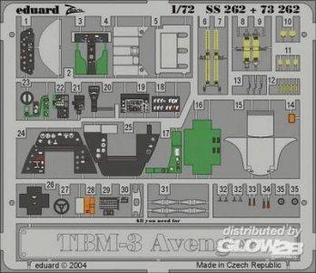 TBM-3 Avenger · EDU SS252 ·  Eduard · 1:72