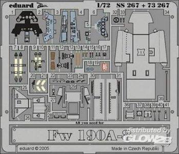 Focke-Wulf Fw 190 A-8 · EDU SS267 ·  Eduard · 1:72