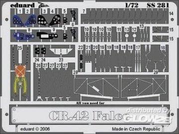CR 42 Falco [Italeri] · EDU SS281 ·  Eduard · 1:72