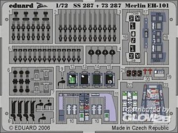 Merlin EH-101 [Italeri] · EDU SS287 ·  Eduard · 1:72