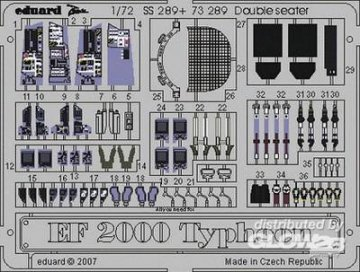 EF 2000 Typhoon Double seater [Revell] · EDU SS289 ·  Eduard · 1:72