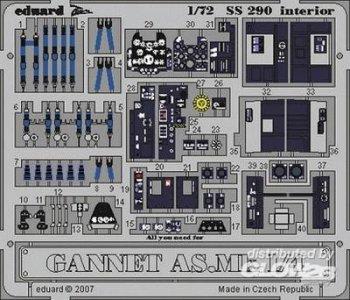 Gannet AS.Mk.1/4 - Interior [Trumpeter] · EDU SS290 ·  Eduard · 1:72