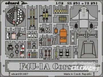 F4U-1A Corsair [Tamiya] · EDU SS291 ·  Eduard · 1:72