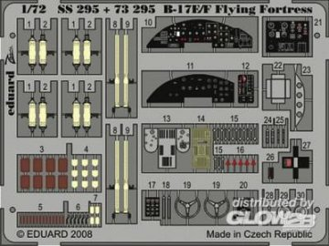 B17E/F Flying Fortress S.A. [Academy] · EDU SS295 ·  Eduard · 1:72